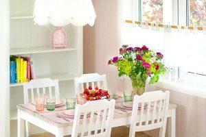 domek kwiatowy